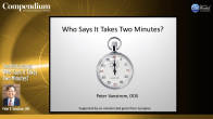 Toothbrushing: Who Says It Takes Two Minutes? Webinar Thumbnail